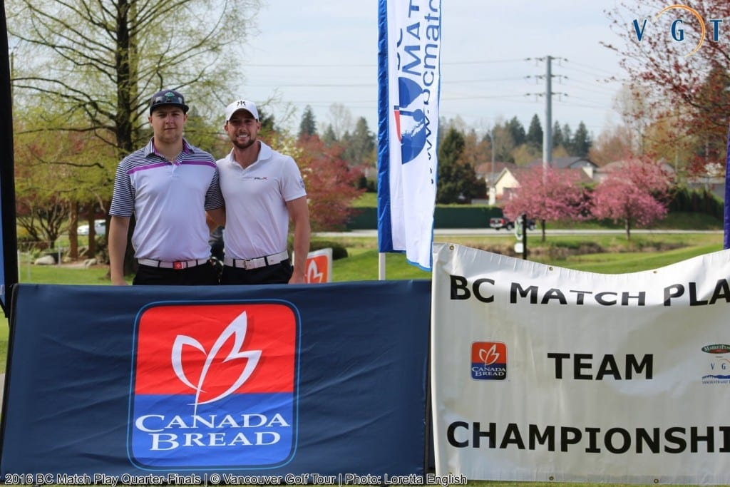 Scotty Secord (Quilchena G&CC) & Taylor Seidel (Mayfair Lakes G.C.)
