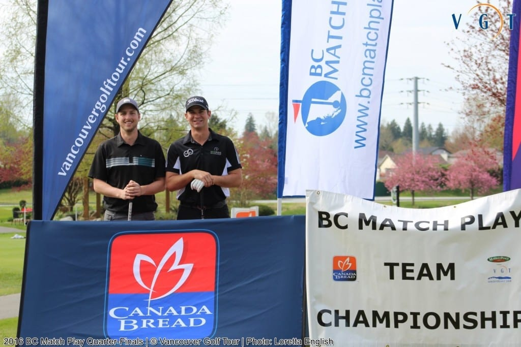 Brad Clapp (Chilliwack GC) & Riley Wheeldon (Bear Mountain)