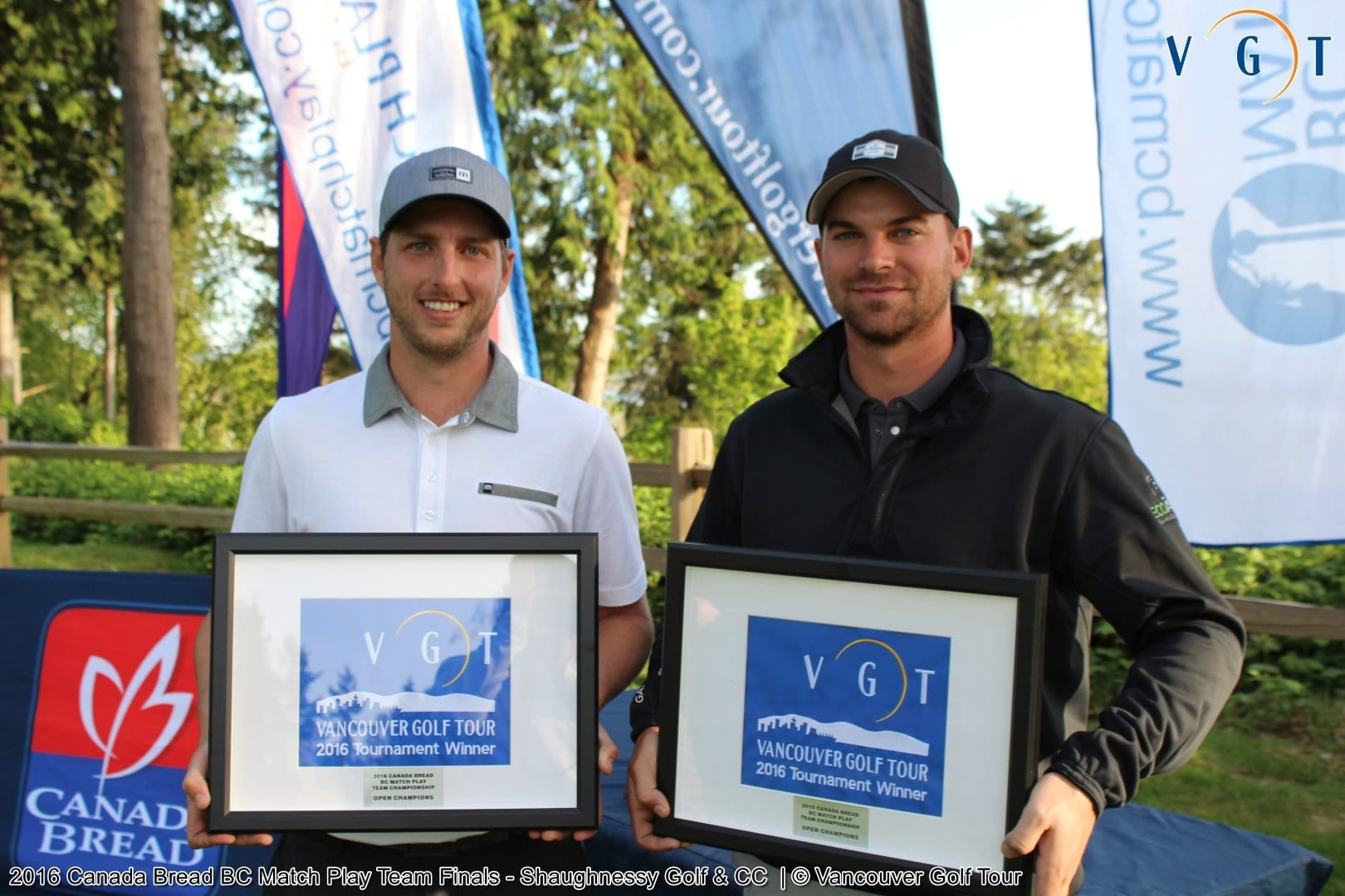 2016 Scratch Winners: Brad Clapp / Riley Wheeldon